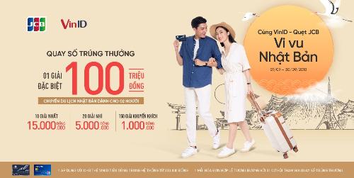 Cùng vi vu Nhật Bản khi mua sắm tại VinMart và VinMart+, thanh toán bằng Thẻ quốc tế JCB.