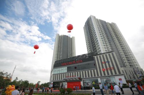 Trung tâm thương mại Vincom được khánh thành tại Bắc Ninh. Ảnh: Vincom