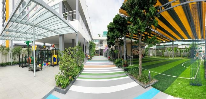 Phú Đông chi 85 tỷ đồng xây trường mầm non trong khu căn hộ
