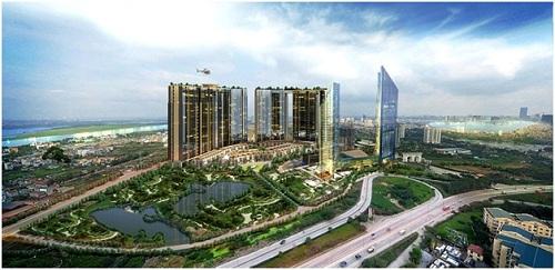 Sunshine City công trình đặt giải nhà ở Hạng sang tốt nhất Việt Nam 2018