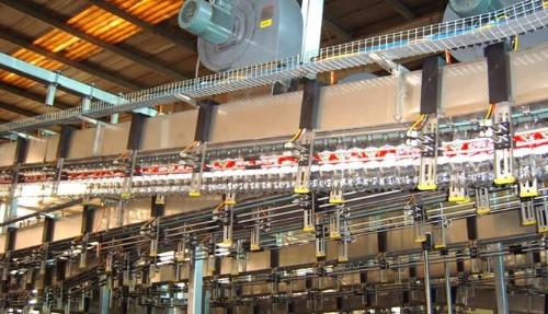 Sử dụng máng lưới trong nhà máy công nghiệp thực phẩm