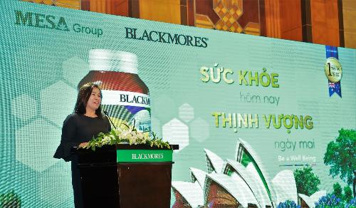Blackmores ra mắt sản phẩm tại Việt Nam thông qua nhà phân phối chính thức được ủy quyền Mesa Group.