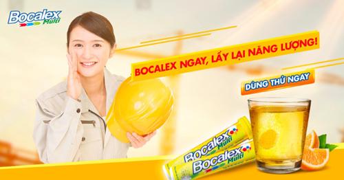 Lấy lại năng lượng nhanh chóng với Bocalex.