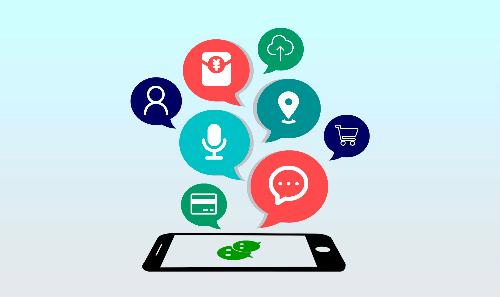 Ngoài trò chuyện, WeChat tại Trung Quốc còn có dịch vụ giao thức ăn, chuyển tiền, thanh toán, đặt lịch bác sỹ, đọc báo, chơi game, làm mới hộ chiếu, quyên từ thiện...