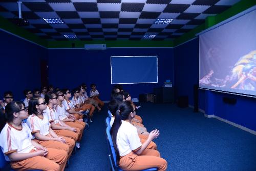 THCS Lương Đình Của đón thư viện thông minh F&N trong ngày khai giảng (xin bài edit) - 1