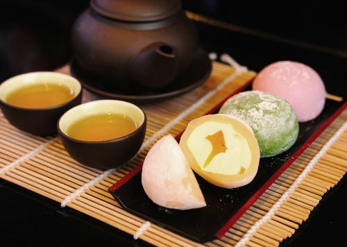 Bánh Mochi có nhiều hương vị độc đáo.