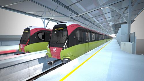 Dự kiến khi đi vào vận hành, tuyến metro số 3 sẽ là một điểm nhấn trong giao thông đô thị của người Hà Nội.
