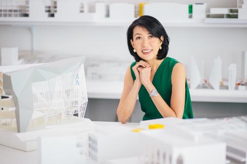 Kiến trúc sư Angelene Chan, CEO của DP Architects Singapore
