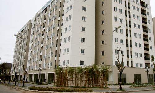 Một dự án nhà ở xã hội ở phía Tây củaHà Nội. Ảnh: CĐT