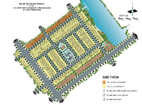 Chỉ từ 550 triệu đồng nhà đầu tư đã có thể sở hữu một lô đất nền với sổ đỏ lâu dài tại KĐTM Thị xã Ngã Bảy.