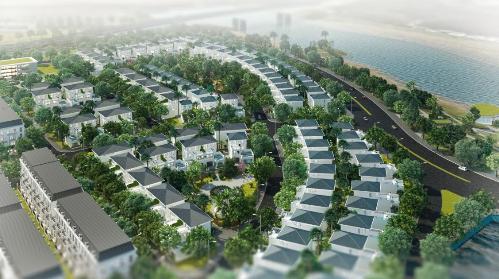 Phối cảnh dự án Làng Việt kiều quốc tế Hải Phòng