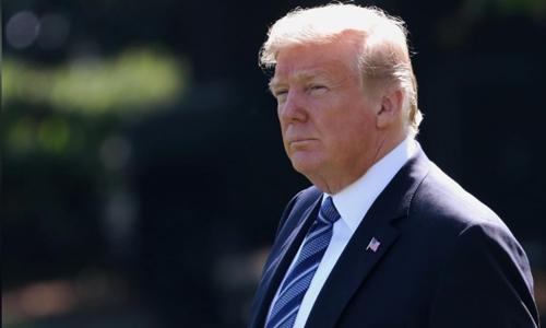 Tổng thống Mỹ - Donald Trump tại Nhà Trắng. Ảnh: Reuters