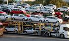 Nhập khẩu ôtô có tuần giảm mạnh