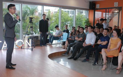 Ông Hà Hoàng Linh chia sẻ tại buổi vận hành AIS chiều 18/8.