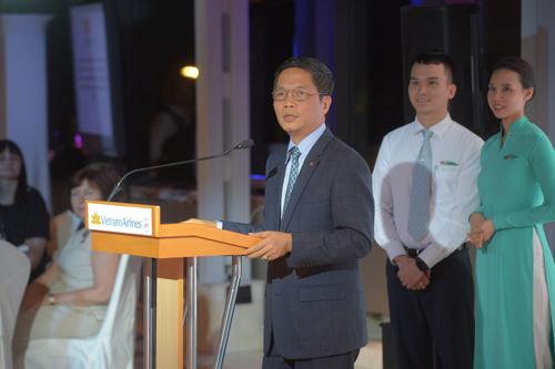 Bộ trưởng Công Thương Trần Tuấn Anh phát biểu tại lễ ký thỏa thuận.
