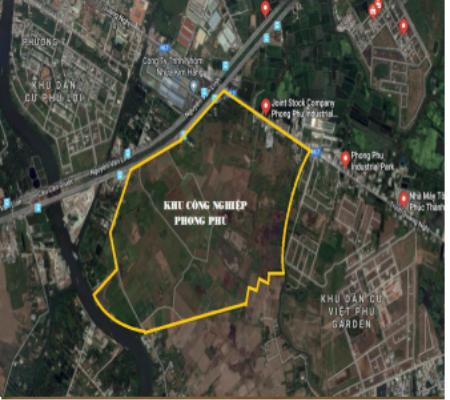 Dự án Khu công nghiệp Phong Phú được Sacombank rao bán với giá khởi điểm 7.600 tỷ đồng.
