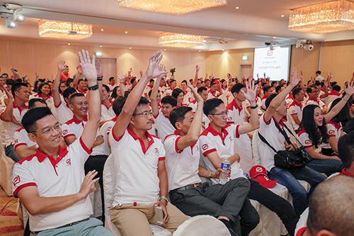 Chương trình team building 2018 của Phat Dat Group tại Singapore.
