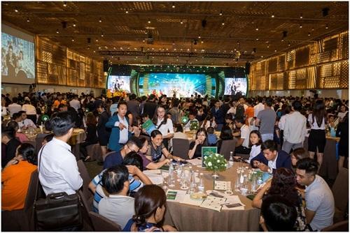 Lễ ra mắt tòa HR1 Eco-Green Saigon thành công với tỷ lệ đặt cọc đạt gần 80%