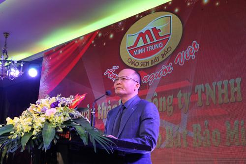 Ông Nguyễn Đắc Minh -Tổng giám đốc Công ty TNHH Minh Trung.