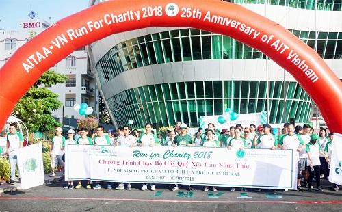 Theo ông Lê Thanh Hảo - Chủ tịch AITAA-VN, có hơn 4.000 cựu sinh viên đã tốt nghiệp học viện. Trong 25 năm qua, AIT Việt Nam đã đóng góp không nhỏ vào nguồn nhân lực cho đất nước. Ảnh: AIT-VN