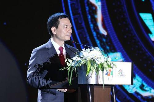 Ông Nguyễn Mạnh Hùng, quyền Bộ trưởng Bộ Thông tin và Truyền thông.