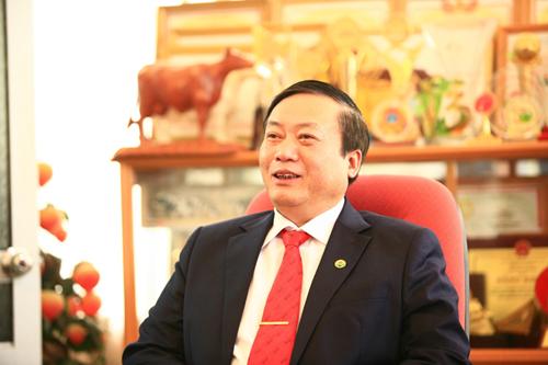 Ông Trần Công Chiến - Chủ tịch HĐQT Mộc Châu Milk.
