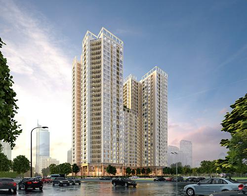 Tổ hợp căn hộ Tecco Skyville Tower là dự án đầu tiên của Tecco Group.