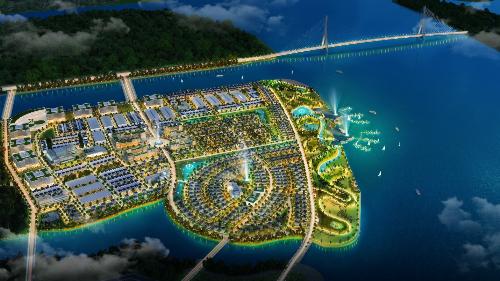 Môi trường sống của King Bay như khu nghỉ dưỡng nhờ được bao quanh ba mặt bởi sông nước. Đăng ký tham dự lễ giới thiệu phân khu D dự án King Bay: hotline 09078888 22 hoặc tại đây.