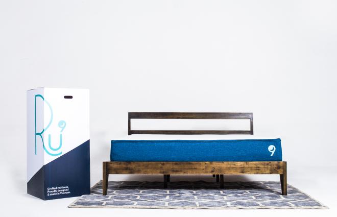 Nệm là sản phẩm đầu tiên mà công ty Ru9 ra mắt thị trường. Trong thời gian tới họ có kế hoạch trình làng những sản phẩm khác phục vụ cho giấc ngủ. Ảnh: Ru9.