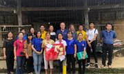 Nam A Bank trao học bổng cho học sinh dân tộc tại Cao Bằng