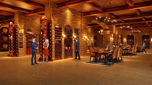 Hầm rượu sang trọng mang phong cách Châu Âu tại Hateco Laroma Hotline: 0904 67 77 88
