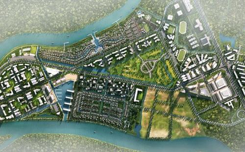 Khu đô thị Waterpoint có nhiều ưu thế về điều kiện tự nhiên cũng như giao thông.
