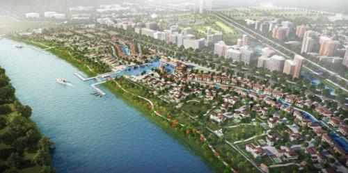 Khu đô thị Waterpoint được chính thức khởi công vào tháng 6/2018. Công Ty TNHH Phát Triển & Kinh Doanh Bất Động Sản Weland. Website: www.weland.com.vn