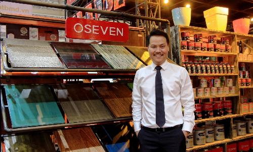 Oseven mang sơn thân thiện môi trường đến hội chợ Vietbuild
