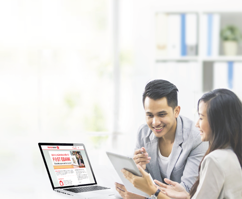 Techcombank dành nhiều ưu đãi cho doanh nghiệp giao dịch trên ngân hàng trực tuyến F@st EBank.