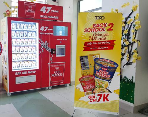 Mô hình máy bán hàng tự đông phát triển mạnh ở Việt Nam.