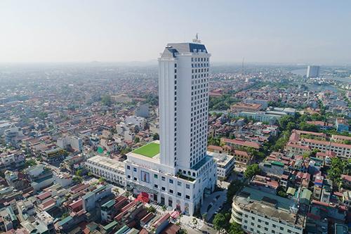 Toà nhà cao nhất tỉnh Hà Nam - nơi Vincom chọn triển khai trung tâm thương mại thứ 60 của mình.