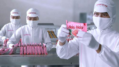 Mì ăn liền Hảo Hảo và quy trình sản xuất hiện đại từ Nhật Bản.