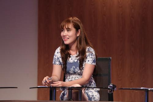 Chị Lê Ngọc Nguyên - Tổng giám đốc Công ty Cổ phần Đầu tư Phát triển Á Long.