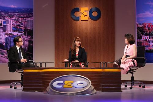 Chị Lê Ngọc Nguyên tham gia chương trình CEO - Chìa khóa thành công (Chương trình do Đài truyền hình Việt Nam phối hợp với Hoàng Gia Media Group và Thời trang Owen thực hiện)