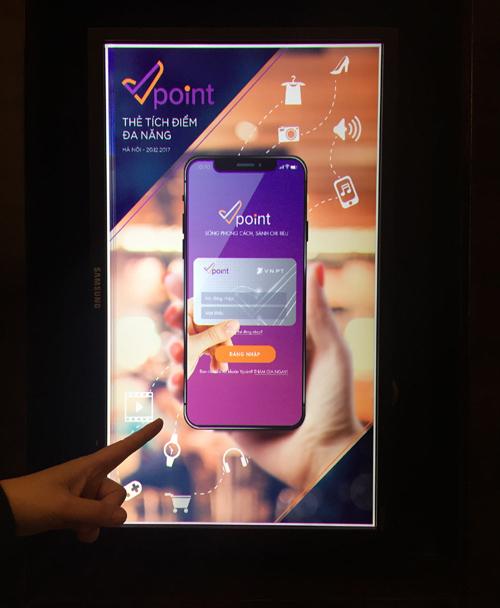Vpoint mang nhiều ưu đãi cho người dùng. Ảnh: Phạm Hải Long.