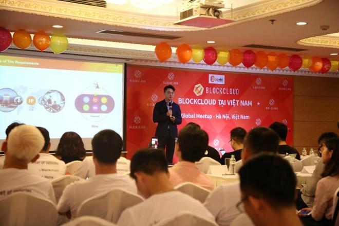 CEOBlockcloud - ôngZhongxing Ming giới thiệu về dự án.