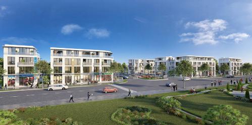Dự án Villa Park Passion nằm trong khu vực sôi động về bất động sản cao cấp.