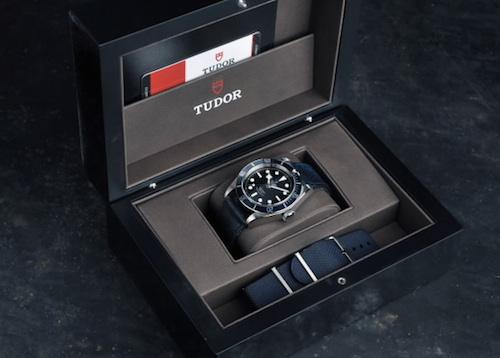 Kể từ năm 2010, mỗi chiếc đồng hồ thuộc dòng Tudor Heritage cùng nhiều dòng thú vị khác như Tudor Fastrider hay Tudor Clair de Rose đều sở hữu phiên bản dây vải riêng
