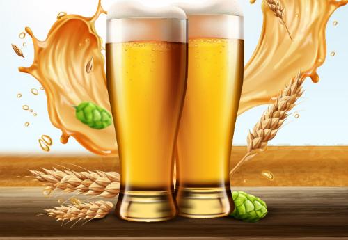 Nhiều tấm vé lễ hội bia Đức được ngân hàng gửi tặng khách hàng trên TP HCM.