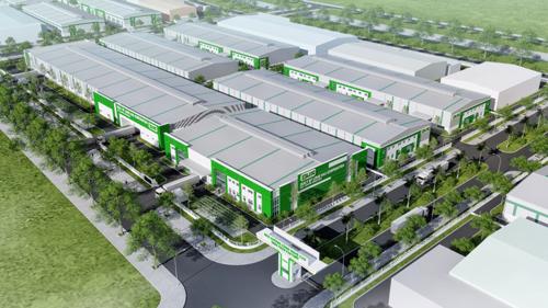 Phối cảnh dự án nhà xưởng Long Hậu tại Khu công nghệ cao Đà Nẵng, Liên hệ Công ty CP Long Hậu, hotline: 0906 938 599 (028) 3937 5599; email và website