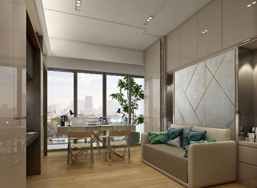 Alpha Hill sở hữu thiết kế độc đáo, để trở thành căn hộ biến hình đầu tiên tại Việt Nam.
