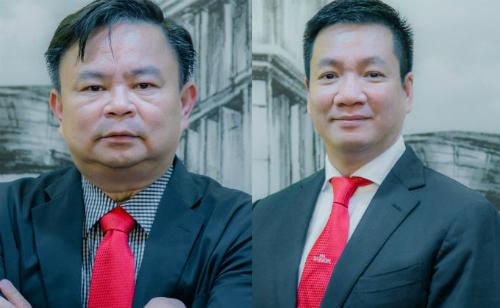 Ông Giang (bên trái) và và ông Hiệp.