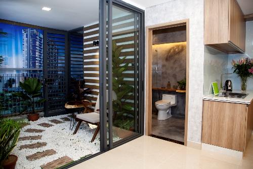 Thiết kế mở bên trong các căn hộ của CT Home - 2