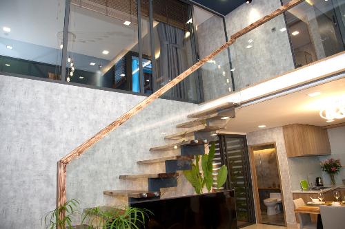 Thiết kế mở bên trong các căn hộ của CT Home